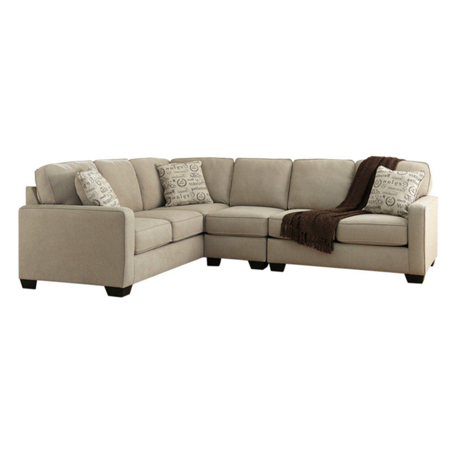 Signature Design By Ashley Alenya 6 Seat Sectional Sofa Quartz