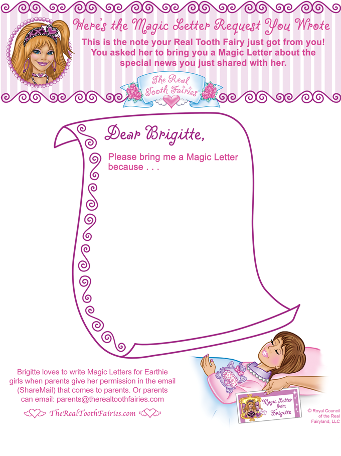 tooth fairy letters the real tooth fairies 174 magic letters 174 your printable 25303