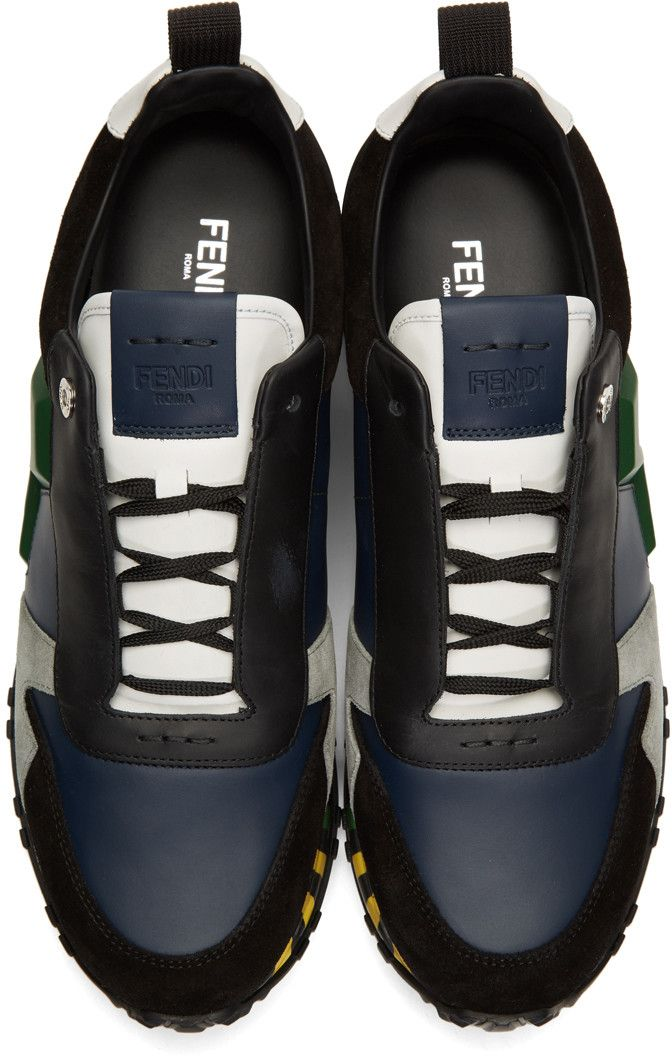 4a1a5905b3 Fendi - Multicolor Speed Runner Sneakers