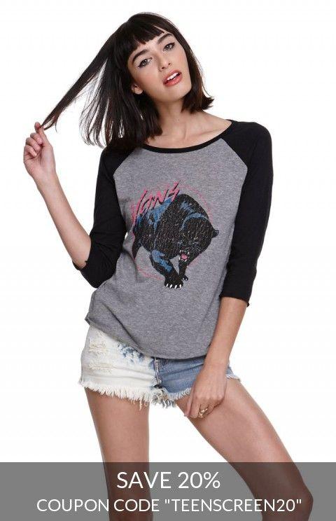 Vans Panther Raglan T-Shirt
