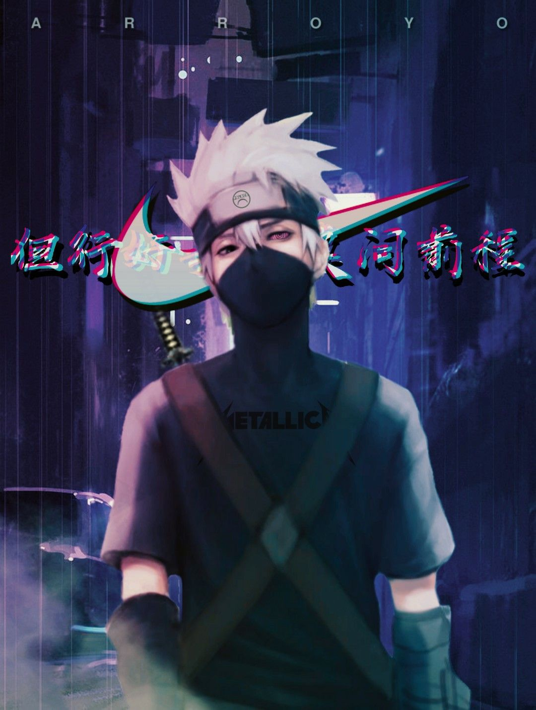 Wallpaper Kakashi Aesthetic