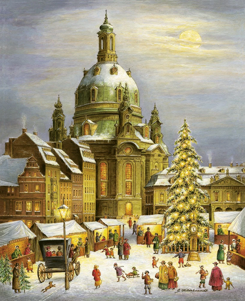Dresden Advent Calendar in 2020 (With images) Christmas