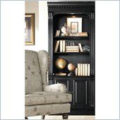 Hooker Furniture Telluride Bunching Bookcase with Doors in Black - 370-10-446