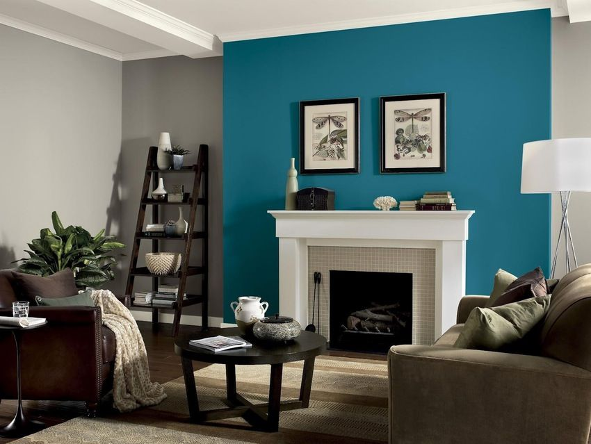 Image Result For Accent Wall Ideas Living Room Teal Living Rooms Living Room Turquoise Accent Walls In Living Room