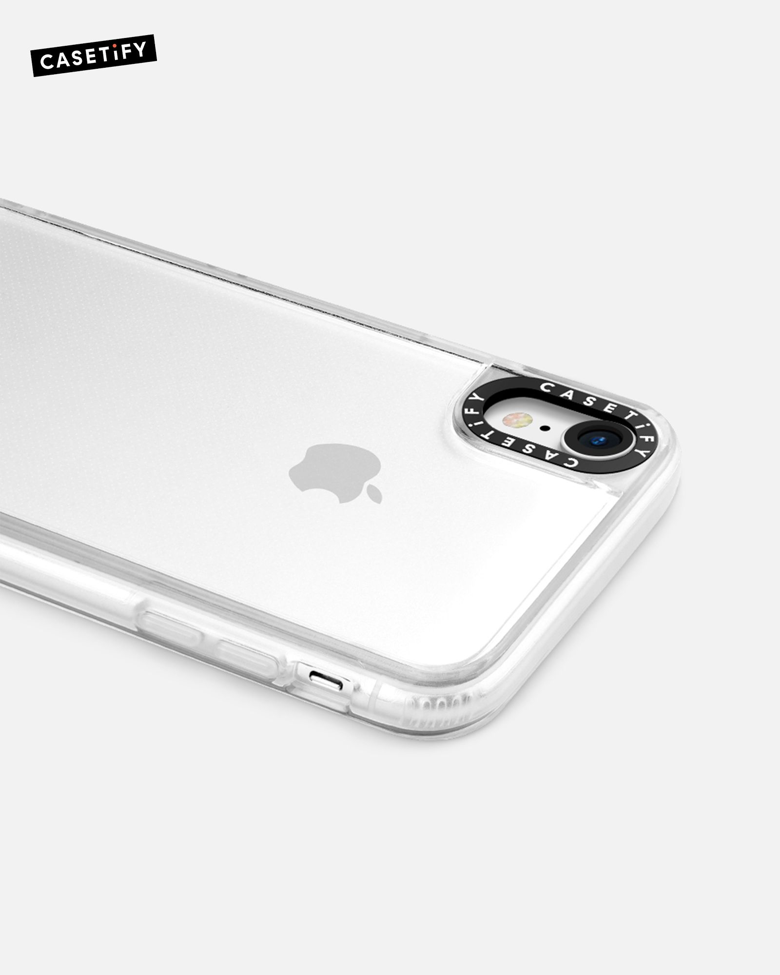 reputable site 38558 006d2 Casetify Clear iPhone XR Case – The transparent Grip Case is made ...