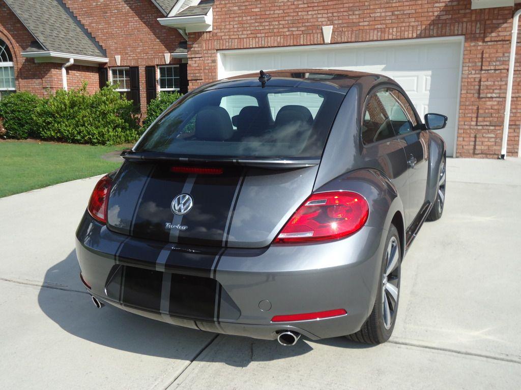2012 platinum grey metallic turbo with black gloss stripes newbeetle org forums