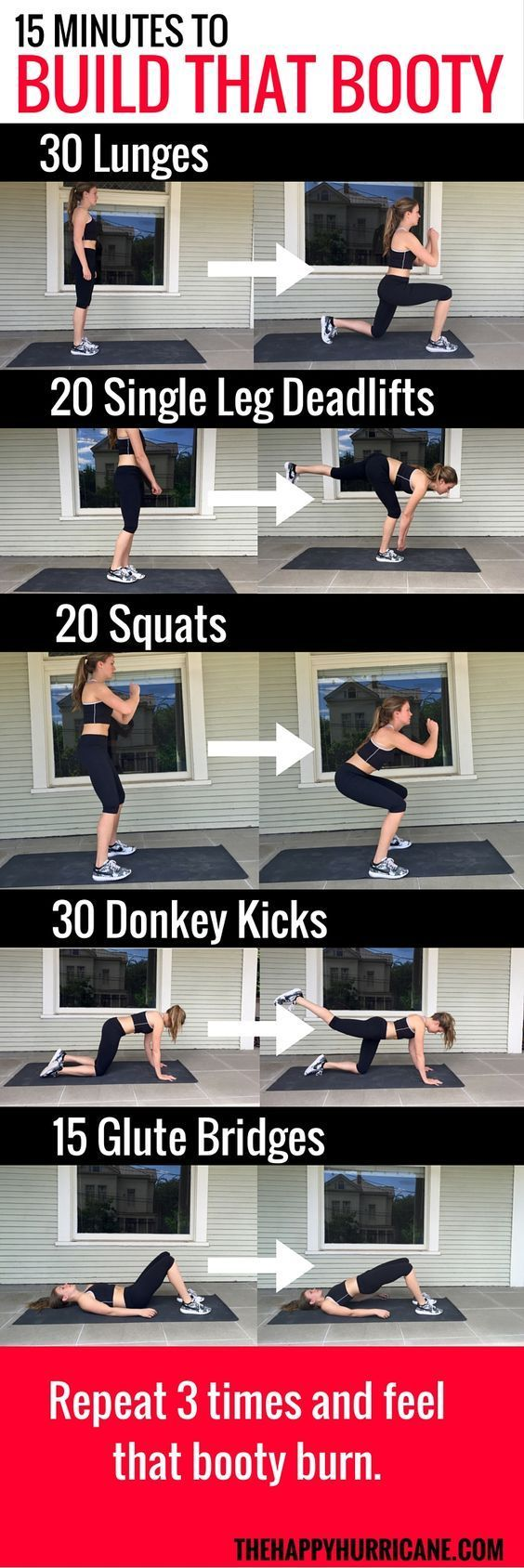 Here's a 15 minute booty workout to help you get the perfect pageant butt. Get more tips and ideas at ThePageantPlanet.com! #ad