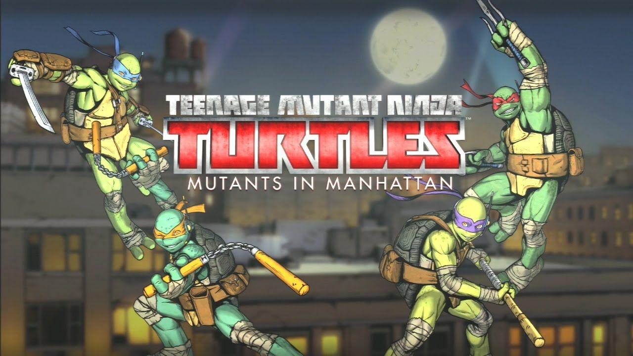 Ps3 Teenage Mutant Ninja Turtles Mutants In Manhattan Max Training Points Save Tmnt Teenage Mutant Ninja Turtles Bebop And Rocksteady