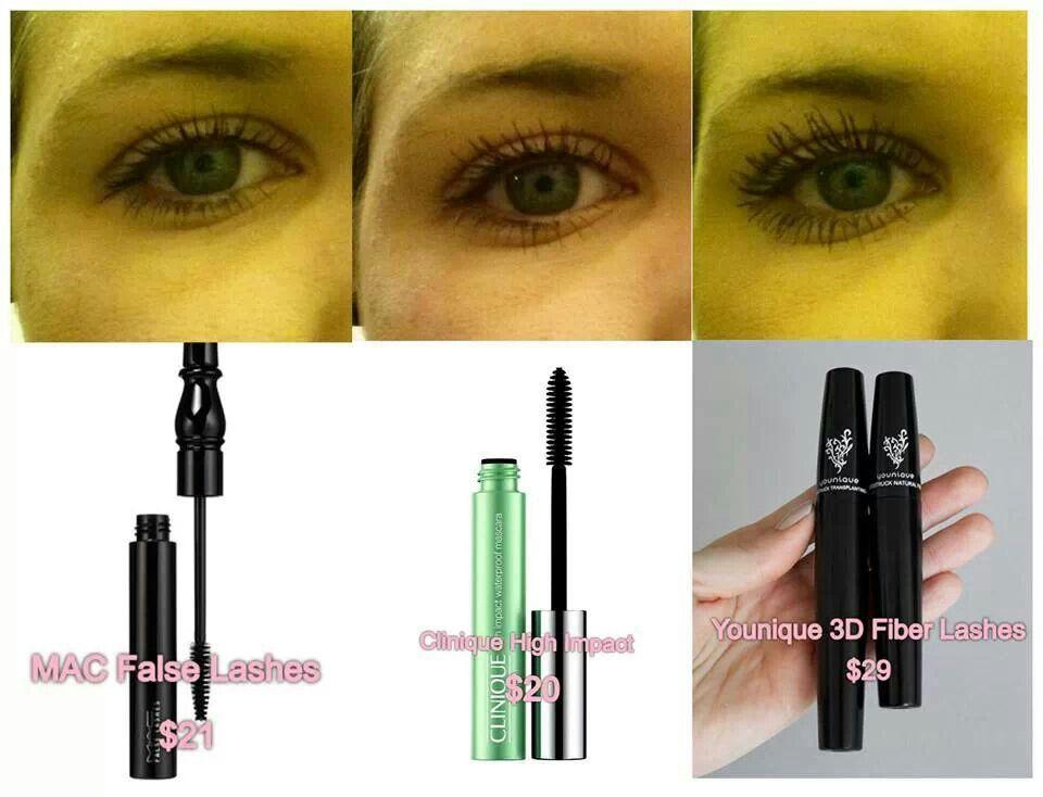 3D Fiber Lash Comparison www.YouniqueByShestan.com