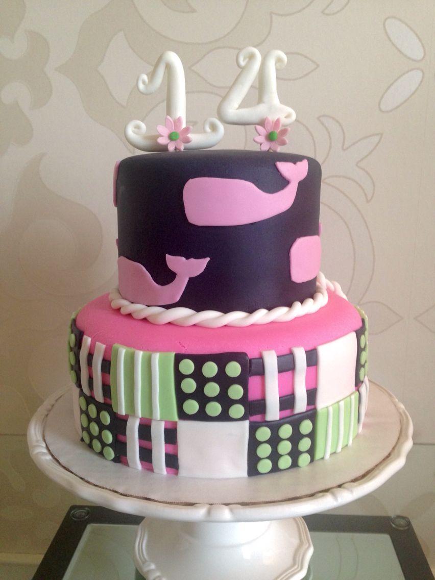 25 Inspired Photo Of 14Th Birthday Cake Vineyard Vines 14 Cakes Wendy Groon