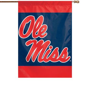 Ole Miss Rebels WinCraft 28'' x 40'' Double-Sided Banner Flag