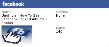 How To See Facebook Locked Private Albums Photos Michael