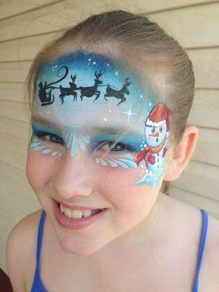 Pin by Sharon Livsey on Face Painting Pinterest Face, Face - face painting halloween ideas