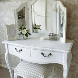 Classic White Dressing Table Vintage Dressing Tables Shabby Chic Dresser White Dressing Tables