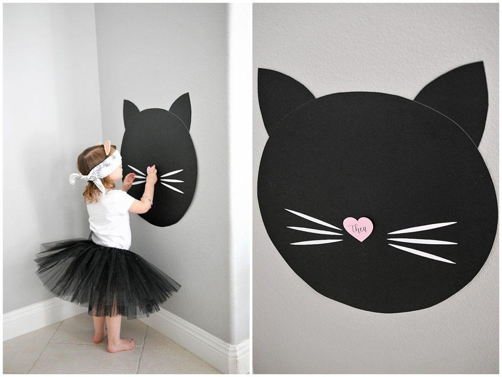 Purrr-fectly Adorable Kitty Cat 3rd Birthday - Smash Cake