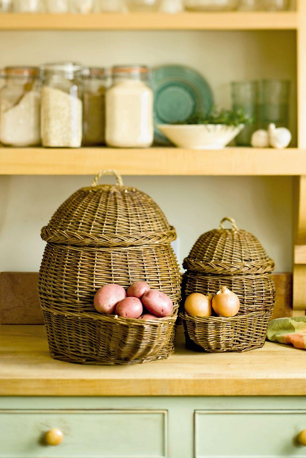 Onion Potato Storage Baskets Free Shipping Gardeners Com