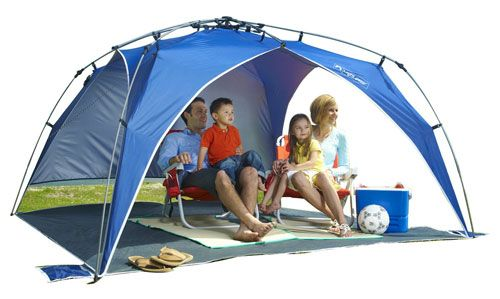 Lightspeed Outdoors Quick Beach Canopy Tent - Lightweight compact beach canopy-style pop up sun shelter sets up and tears down instantly thanks to the ...  sc 1 st  Pinterest & Lightspeed Outdoors Quick Beach Canopy Tent Blue by Lightspeed ...