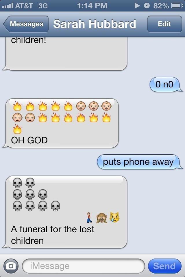 23 Creative Emoji Masterpieces Funny Emoji Texts Emoji Conversations Emoji Texts