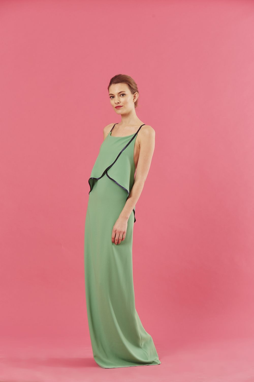 Coosy - VESTIDO CLAIRES VERDE | draping | Pinterest | Wedding guest ...