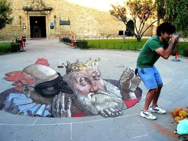 #OtticaMarziali #funfacts #anamorfosi #arte #prospettiva #streetart