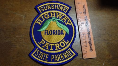 Details about FLORIDA HIGHWAY PATROL STATE TROOPER PATCH OBSOLETE
