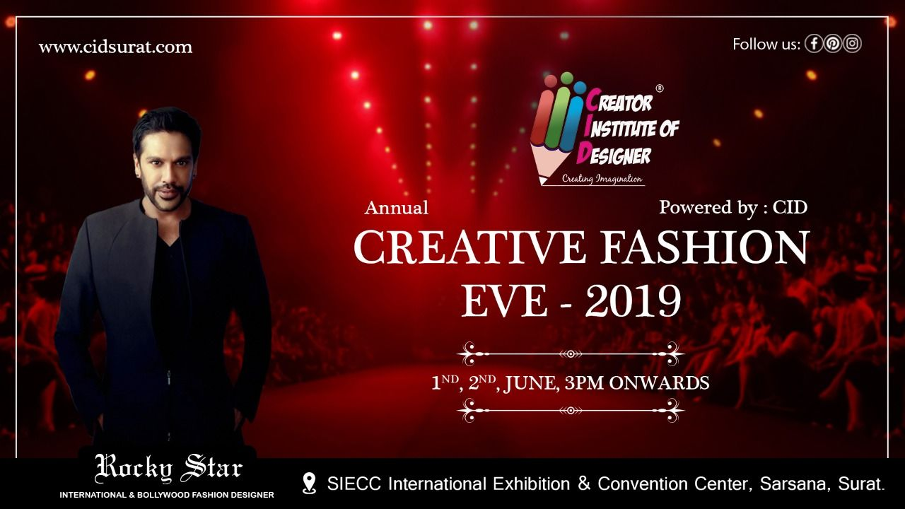 Free Passes Are Available In The Cid Branches Limited Seats For More Information Contact 972 Fashion Designing Course Creative Fashion Kids Fashion Show