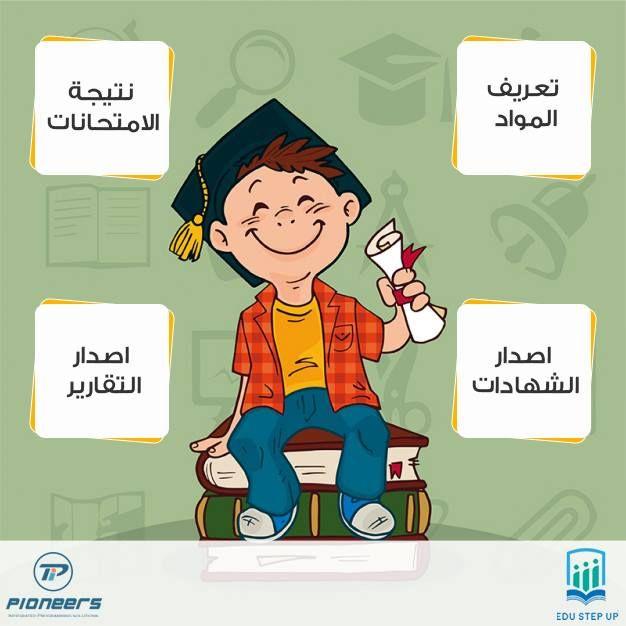 تعريف المواد الدراسية وتغطية جميع انواع الاختبارات باختلاف النسب بينها واحتساب معدلات المواد والمعدل العام والنتيج Vector Free Education Icon How To Draw Hands