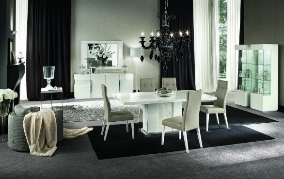 Alf Italia Canova Dining Table Italian Made Furniture