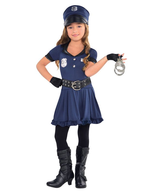 check out girls cop cutie costume occupational girls costumes from wholesale halloween costumes - Tough Girl Halloween Costumes