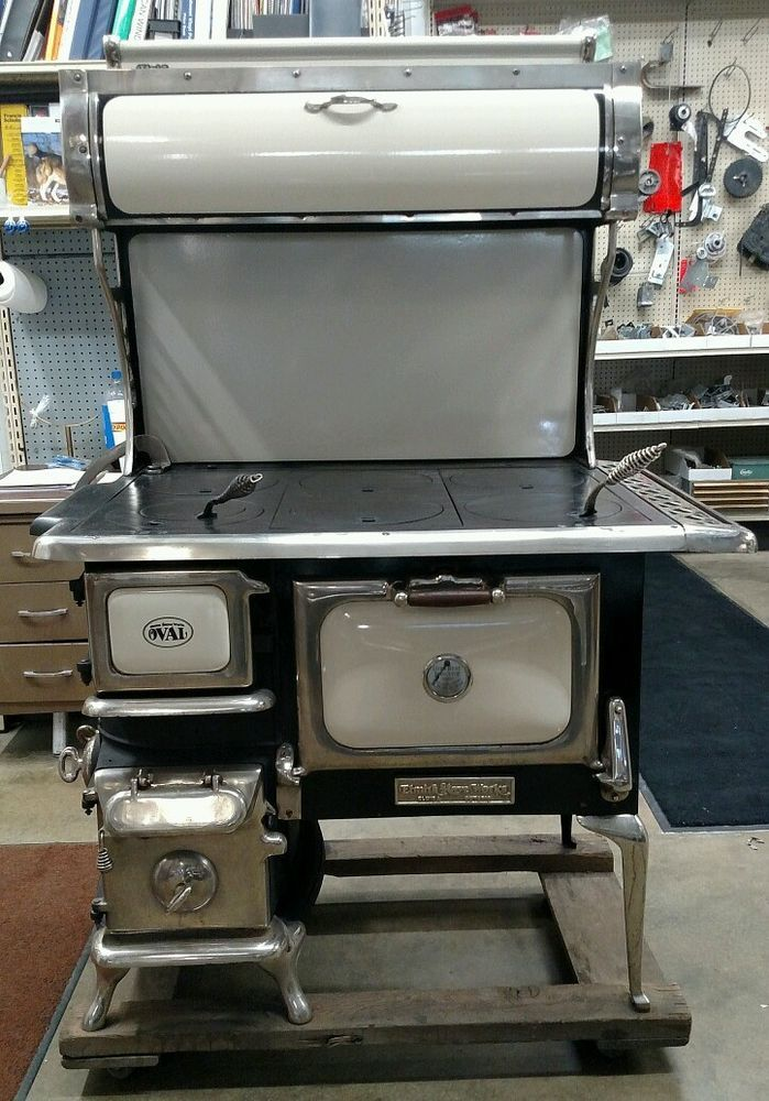 VINTAGE KITCHEN WOOD COOK STOVE ELMIRA STOVE WORKS GREAT FOR HOME CABIN  COTTAGE #ELMIRASTOVEWORKS - VINTAGE KITCHEN WOOD COOK STOVE ELMIRA STOVE WORKS GREAT FOR HOME