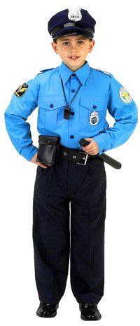 Jr. Police Officer Costume with Cap - Police Costumes for Children  sc 1 st  Pinterest & Jr. Police Officer Costume with Cap - Police Costumes for Children ...