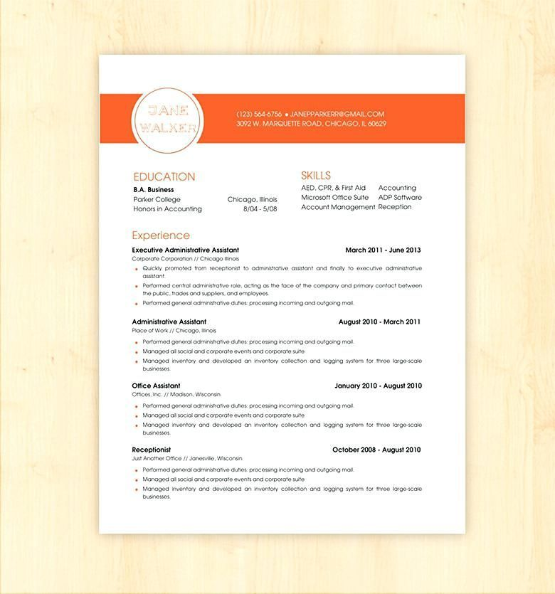 Resume Templates And Resume Examples Downloadable Resume
