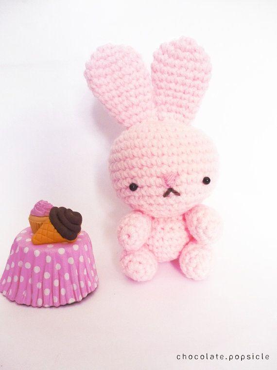 Amigurumi Cupcake Bunny : Pink bunny #crochet #amigurumi #cute Little things I ...