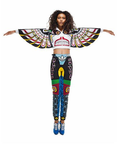8d09d6acb96e Jeremy Scott And Adidas Debut