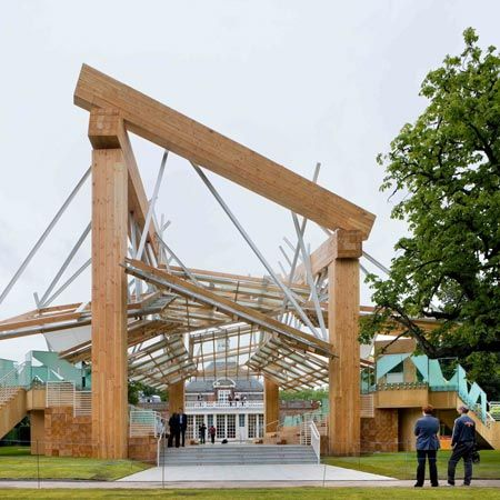 One Of The Worst Things I Have Seen In My Life Serpentine Gallery Pavilion 2008 By Frank Frank Gehry Landscape Architecture Design