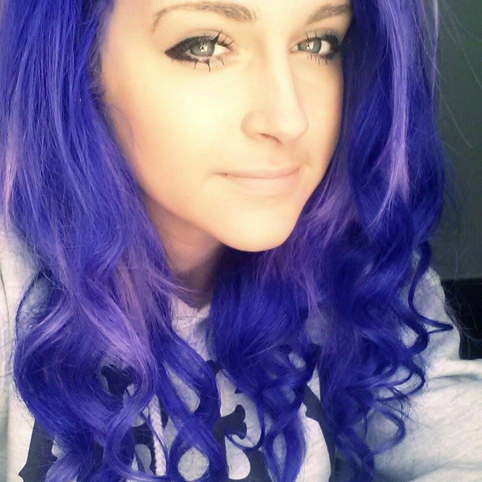Splat new Purple Desire purplehair curls ((might try