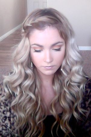 How To Do Your Hair In A Side Twist Hair Pinterest Tutorials