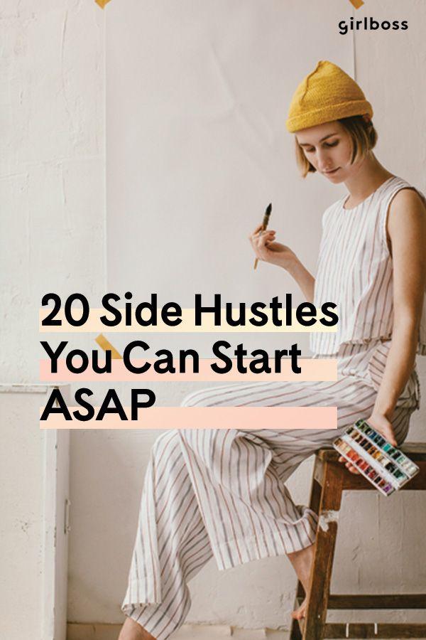 21 side hustles you can start asap small b finanzen. Black Bedroom Furniture Sets. Home Design Ideas