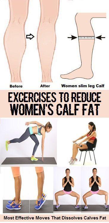8 beste Übungen zur Reduzierung von Kalbsfett bei Frauen
