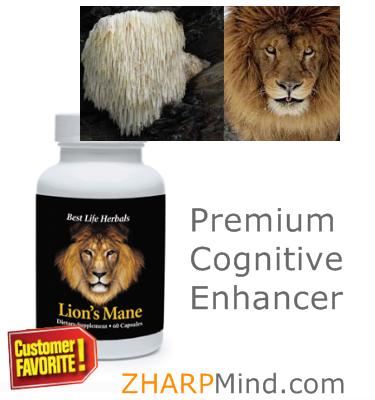 Best Lion's Mane Mushroom Supplement - Cognitive Enhancer for Sharp Focus...