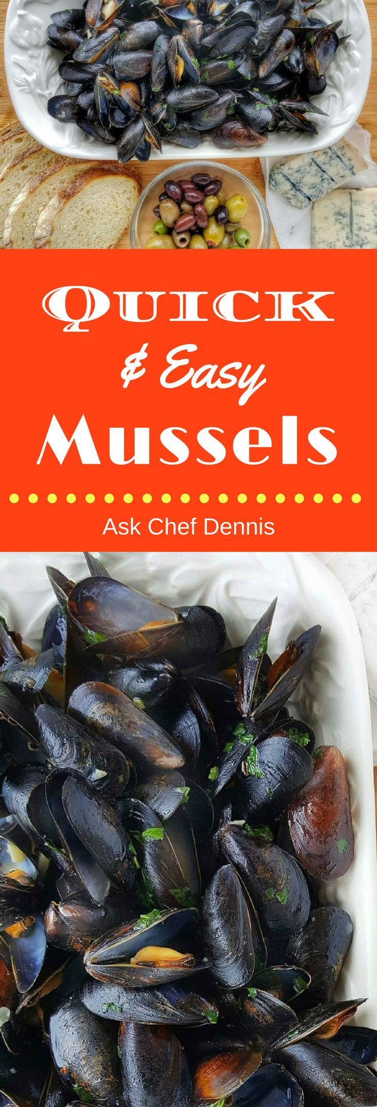 Quick Easy Mussels Recipe To Turn Your Evening Meal Into An Italian Feast Via Askchefdennis Mussels Recipe Easy Mussels Recipe Mussels