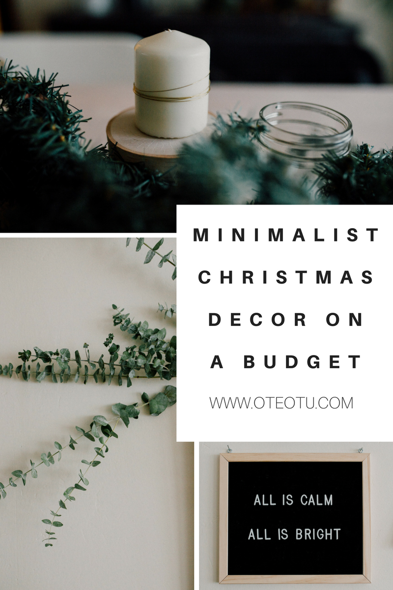 christmas decorations minimalist christmas decor on a budget decorating your apartment for christmas - Minimalist Christmas Decor