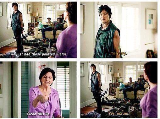 Thewalkingdead Walking Dead Daryl Fear The Walking Dead The Walking Dead