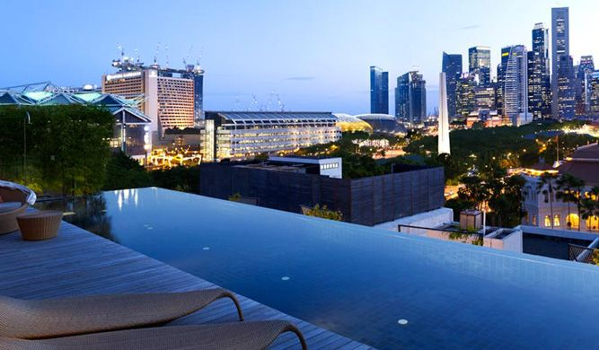 Pin By Destinasian Magazine On Destination Singapore Hotel Pool
