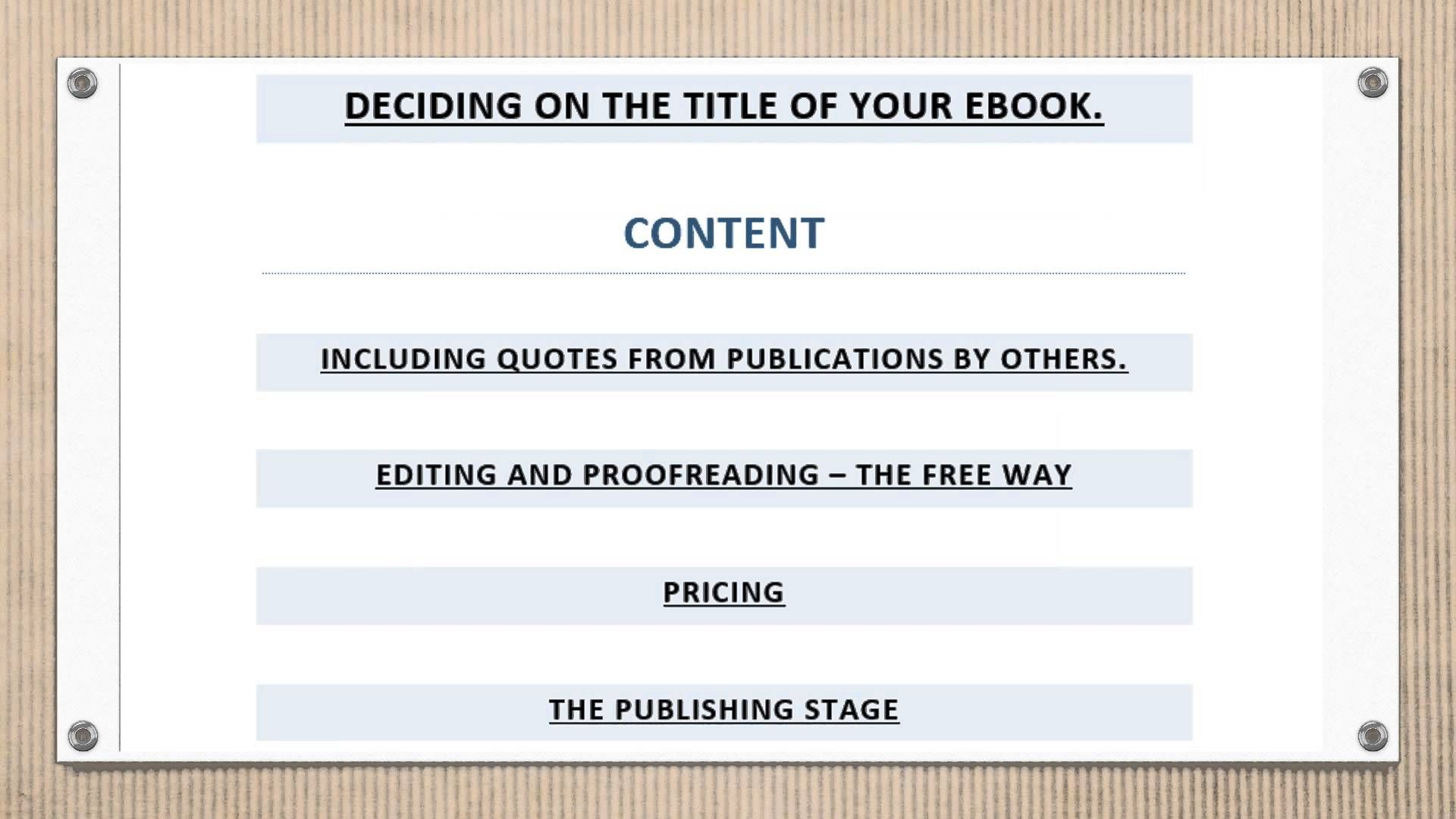 best place to sell ebooks online