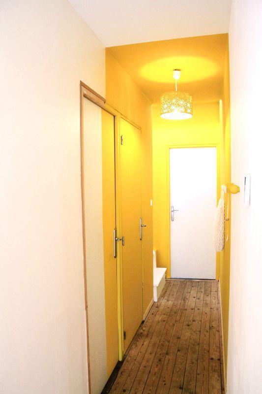 Relooking du couloir trop long et sombre t te d 39 ange - Couleur de peinture pour couloir ...