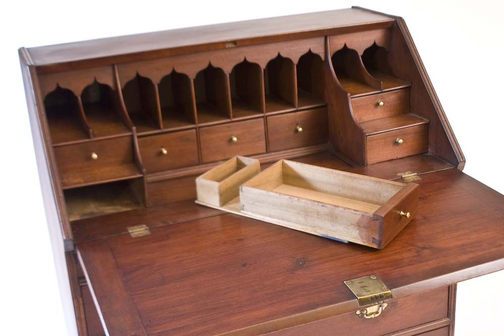 Secret Furniture Compartment Behind Desk Drawer Desk Hidden