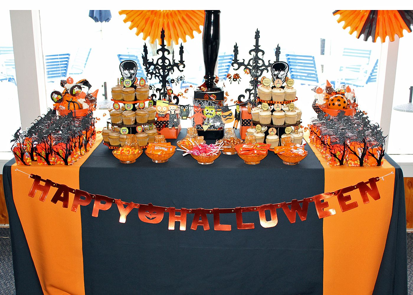 le fleur couture: halloween themed baby shower | halloween baby