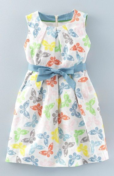 d59ce06a2 Mini Boden 'Vintage' Butterfly Print Dress (Toddler Girls, Little Girls &  Big Girls)