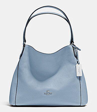 63b9e1934f6d50 COACH Edie 31 Polished Pebble Shoulder Bag | My Sisters | Bags ...